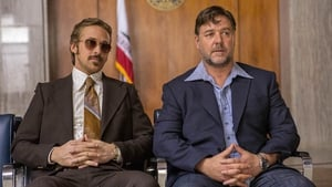 Gosling and Crowe's buddy-cop 'bromance' is up there with up comedic greats like - Abbott and Costello and Bob Hope and Bing Crosby