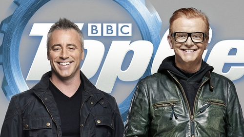 Top Gear new guys Matt Le Blanc and Chris Evans