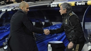 There's known to be no love lost between Pep Guardiola Jose Mourinho