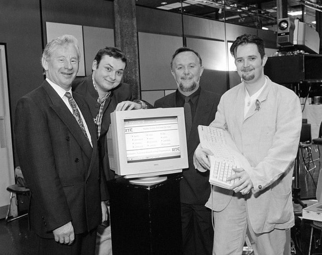 Launch of RTE.ie on 24 May 1996