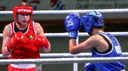 Katie Taylor is due in the ring around 3pm