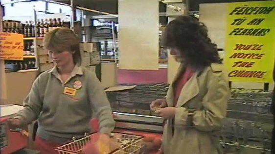 Shopping in Donaghmede 1986