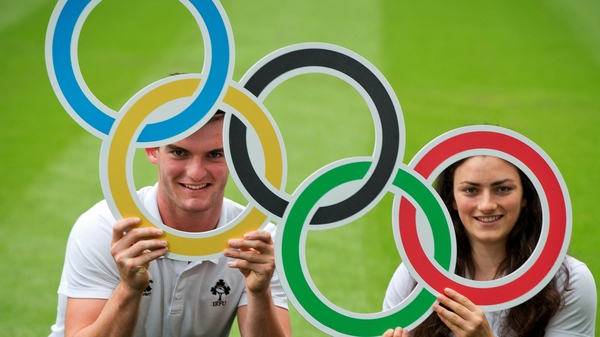 Ireland's Tom Daly and Lucy Mulhall are one big step away from Rio