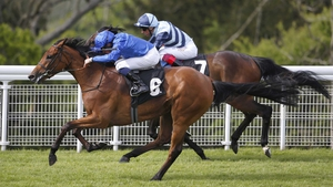 Skiffle, who only made her debut on 6 May, wears down The Black Princess at Goodwood