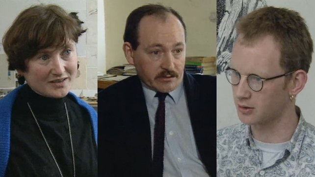 Marie Foley, Declan McGonagle and Ken Hardy (1991)