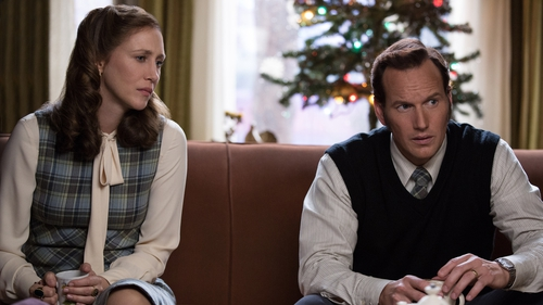 Here's hoping we see more of Vera Farmiga and Patrick Wilson as Lorraine and Ed Warren