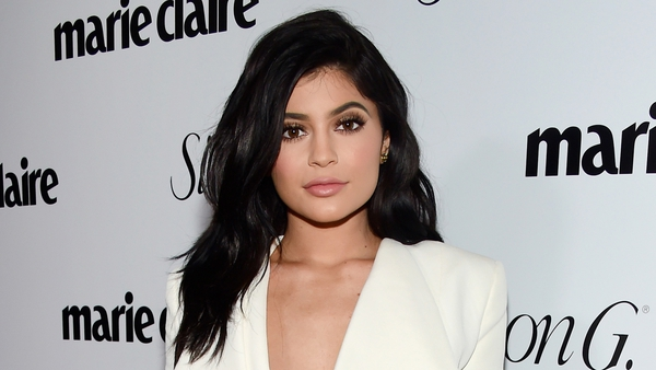 Kylie Jenner at the Marie Claire Party