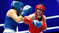 Katie Taylor and coach Zaur Anita on Olympic qualification