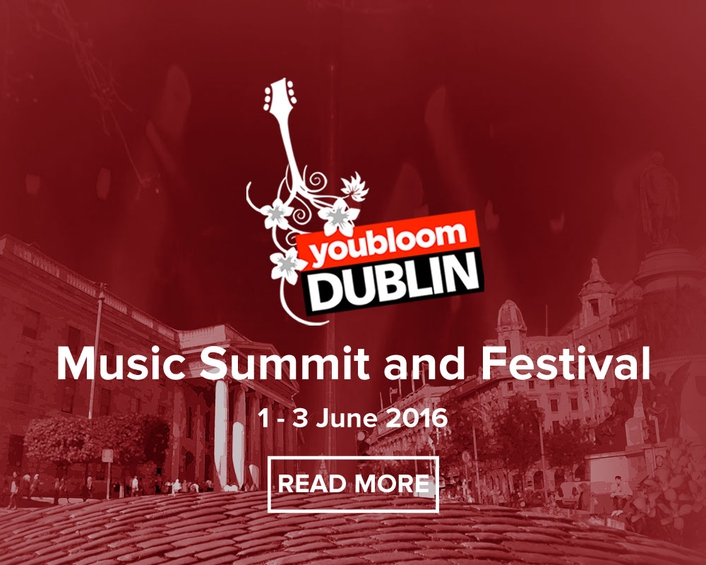 YouBloom Music Summit in Dublin 2016