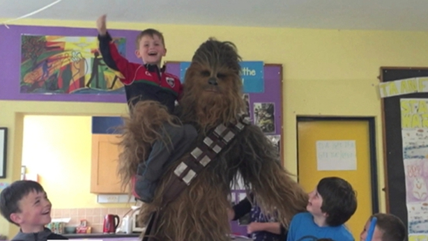 Raawwwrrr! Wookiee-mania at Kerry school