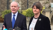 Sinn Féin leader Martin McGuinness and DUP leader Arlene Foster set to forge new government