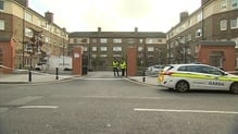 Gareth Hutch was shot dead  yesterday at the Avondale House flatscomplex on North Cumberland Street