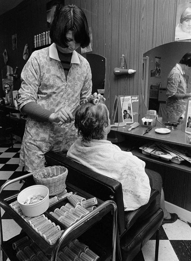 Hairdresser Frances Beakhurst