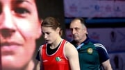 Katie Taylor and Zaur Antia