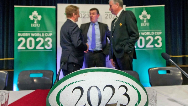 The IRFU's 2023 World Cup bid will be unveiled on Tuesday