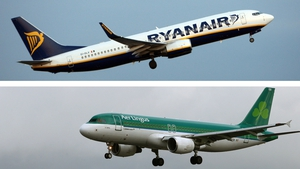 Ryanair and Aer Lingus are advising customers to check their websites
