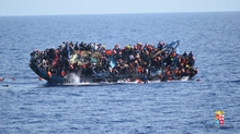 The Italian navy was able to rescue 562 people from the water