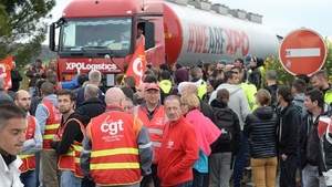 Strike has disrupted fuel supplies in parts of France