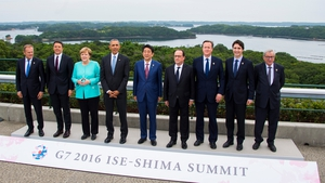 The Group of Seven leaders are holding a summit in Japan