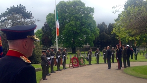 The event at Grangegorman Military Cemetery was part of the Ireland 2016 Centenary Programme
