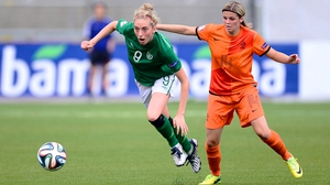 Megan Connolly returns to the Ireland squad