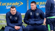 Shay Given and James McCarthy sit out yesterday's training