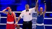 Katie Taylor was beaten on a split decision