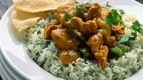 Kevin Dundon's chicken curry