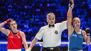 Katie Taylor was beaten on a split decision