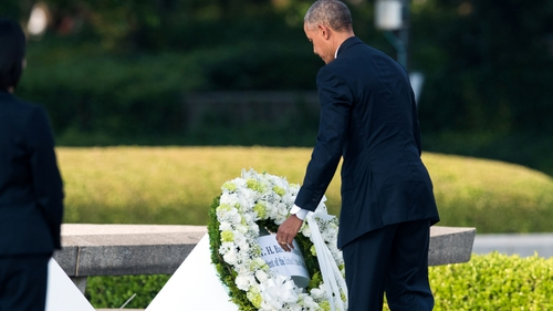 Barack Obama - 'We come to ponder the terrible force unleashed in a not-so-distant past'