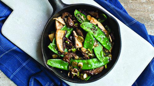 Asian Lamb Stir-Fry: Domini Kemp