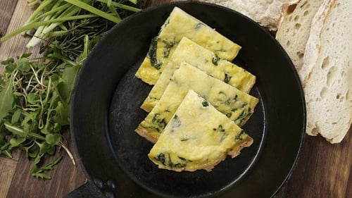 Sunday Brunch: Fridge Leftovers Frittata