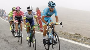 Nibali leads Chaves and Kruijswijk through the Alps