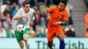 Seamus Coleman in action against the Netherlands