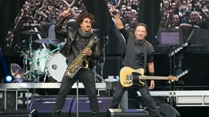 Garth who? Bruce on stage with Jake Clemons at Croke Park on Friday night