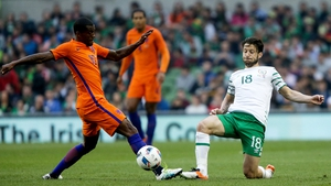 Harry Arter caught the eye in just his second international appearance