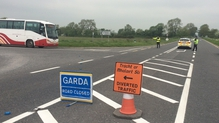 The stretch of road in Co Meath is currently closed
