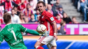 Mario Gotze has stated he wants to fight for his place at Bayern
