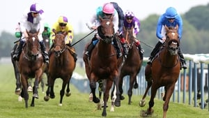 Home Of The Brave (blue silks) has been off the track since the end of May