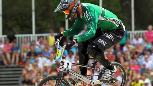 BMX Rio race heats up for Kelvin