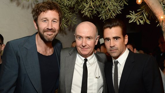 Irish Actor Chris O'Dowd with Colin Farrell and Irish Film Board CEO James Hickey
