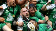 Captain John Muldoon leads the Connacht celebrations