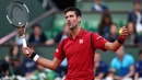 Serbian Djokovic is currently competing in the French Open