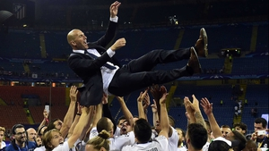 Zinedine Zidane won the Champions League with Real Madrid as a player in 2002