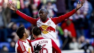 Bradley Wright-Phillips has scored eight goals in 14 appearances for the New York Red Bulls this season
