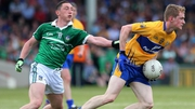 Pete Nash and Pearse Lillis in action during the Munster SFC