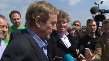 Enda Kenny said that Ireland's wish is that Britain will remain in the EU