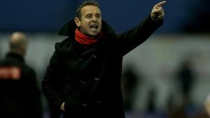 Sligo Rovers manager Dave Robertson saw his side enjoy a derby win