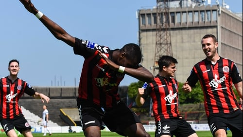 Ismahil Akinade is the man to watch for Bohemians