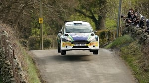 Sam Moffett claimed victory in the Hotel Kilmore Cavan Rally